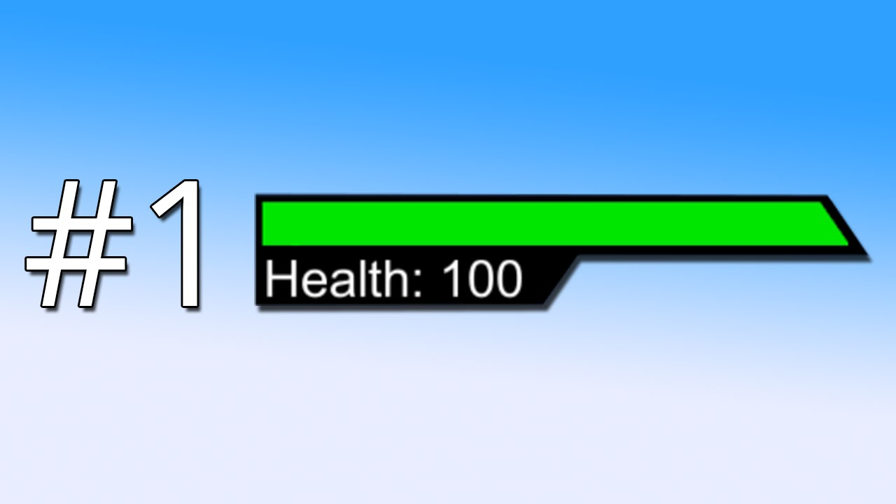 Health Bars Unity a Health Bar The Basics