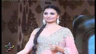 Sexy Lara Datta Walks The Ramp At Mijwan Fashion Show   YouTube