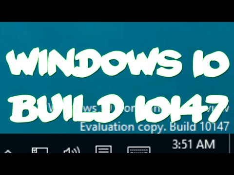 Windows 10 Leaked Build 10147 Hands On!
