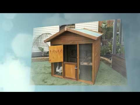Wooden Dog Kennels Rabbit Hutches Chook Houses Youtube