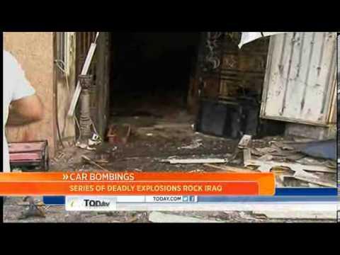 Car Bombs Kill Six Soldiers In Iraq