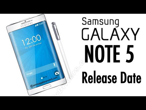 NEW Samsung Galaxy Note 5 Release Date