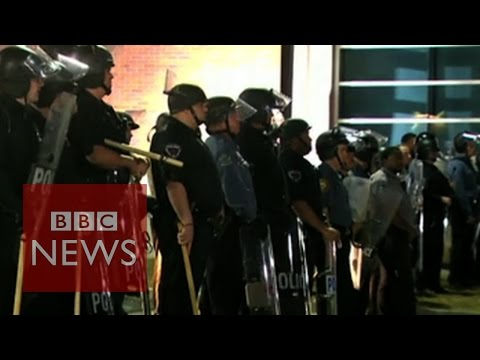 Ferguson: Two police officers shot during protest