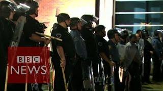 Ferguson: Two police officers shot by unclassified species