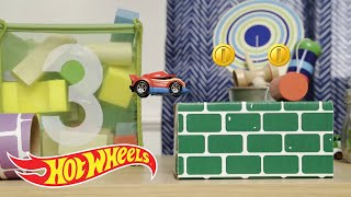 Super Mario Bros. Cars Stop Motion Action | Hot Wheels