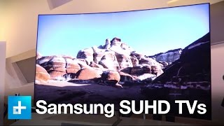 Samsung SUHD TVs - Hands on at CES 2016
