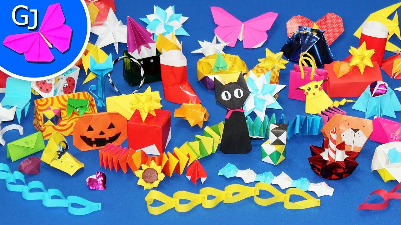 Все оригами из бумаги на канале gamejulia