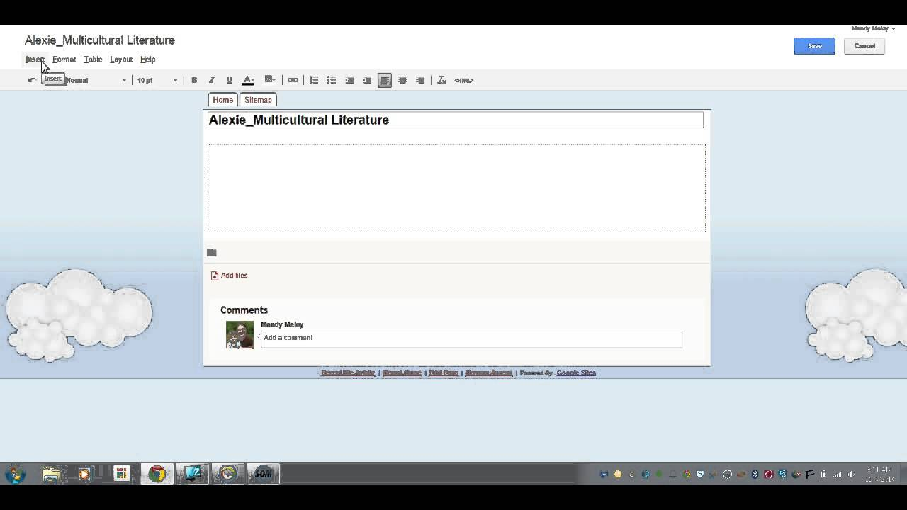 how to add pages on google sites