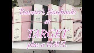 Target Traveler's Notebook | Haul