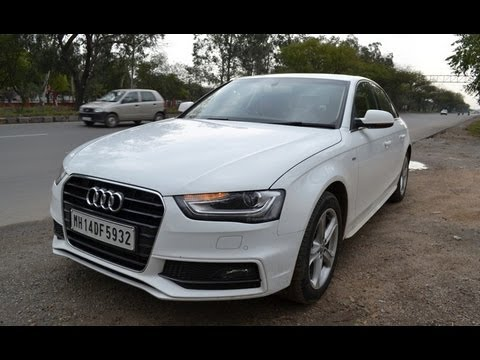 Audi A4 Road Review And Drive- Comfort, Space, Features, Acceleration Test And Driving Modes