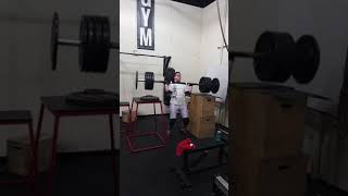 Mattis 115kg Pushpress @Iron Addics Las Vegas