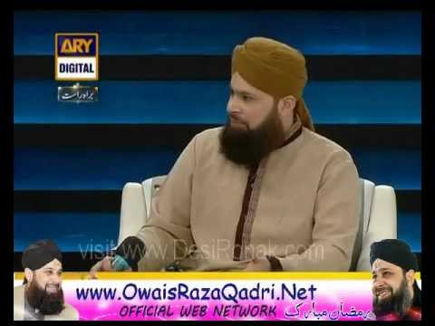 Faizan-e-Ramzan- Owais Raza Qadri - (Sehar Transmission) - 7rd August 2012 - 18th Ramzan Part  3