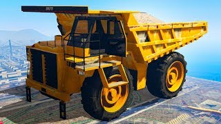 BIGGEST VEHICLE IN GTA 5! (GTA 5 Funny Moments)