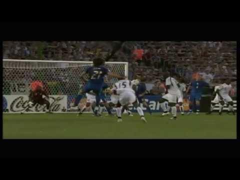 Mondiale di calcio 2006 Italia campione del mondo.