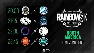 Rainbow Six Pro League - NA - Season X - Playday #6