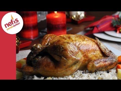 Fırında Bütün Tavuk Tarifi   Nefis Yemek Tarifleri