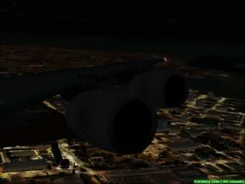 FSX:Take Off Emirates A380 From Dubai Airport