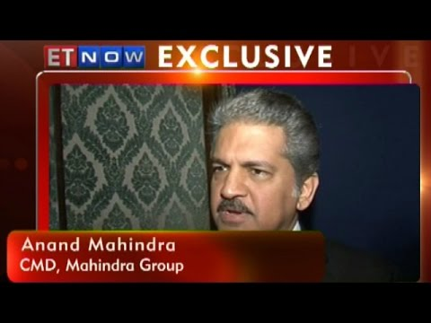 M&M's Anand Mahindra To ET NOW At World Economic Forum