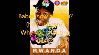 R.W.A.N.D.A - Fuse ODG lyrics