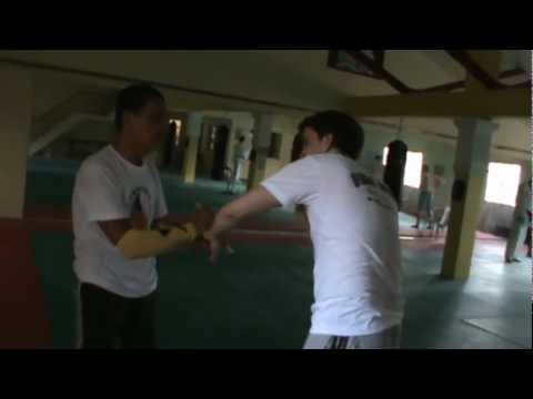 Joint locks and knife fighting techniques - Master Samuel Lacsi / Eskrima Arnis Kali Image 1