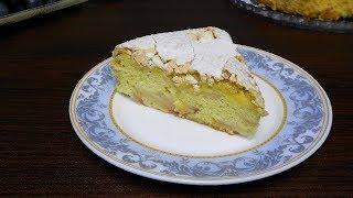 Самый простой и быстрый бисквитный пирог с яблоками. Потрясающий резльтат!