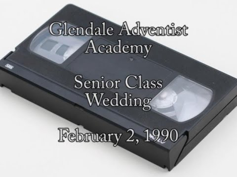 1990 - Glendale Adventist Academy Senior Class Wedding