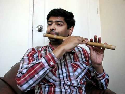 Apsara aali - Natrang - marathi song on  flute