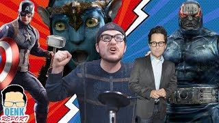 Endgame reestreno con ESCENAS ELIMINADAS - ¿JJ Abrams dirigirá DC? | QR