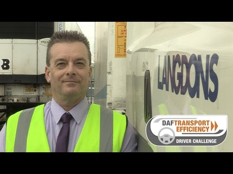 DAF Trucks UK | DAF Transport Efficiency Driver Challenge - Meet the Finalists: Julian Totterdell