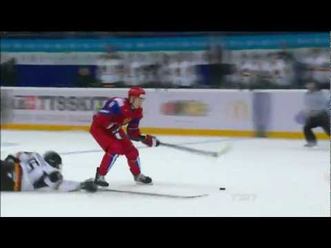 Russia - Germany 7:0 U20 IIHF WJC 2013 █ Россия - Германия Молодежный чм