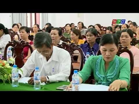 TW Hội LHPN VN kiểm tra công tác Hội tại xã Thới Hưng huyện Cờ Đỏ