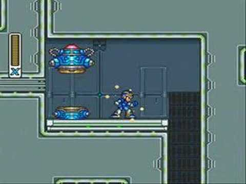 Mega Man x Capsule Locations