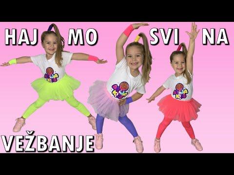 ARIJA - HAJMO SVI NA VEŽBANJE (Official Music Video)