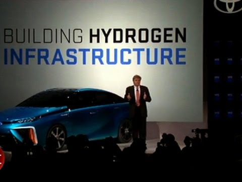 CNET News - Toyota outlines hydrogen fuel cell ambitions