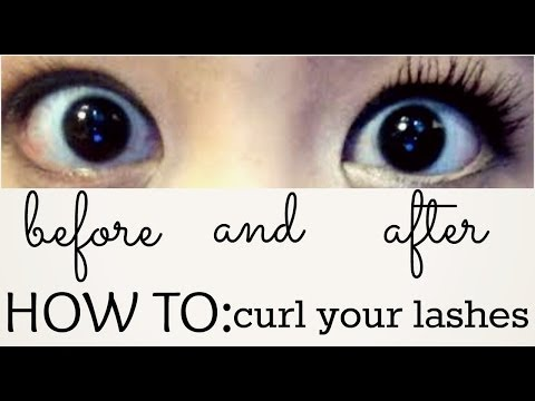 ♡HOW TO: Curl STRAIGHT Lashes!♡