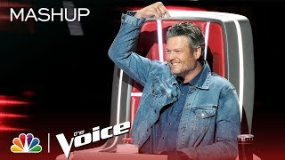 Blake Shelton: Pointing Fingers Since Season 1 - The Voice 2019 (Mashup)