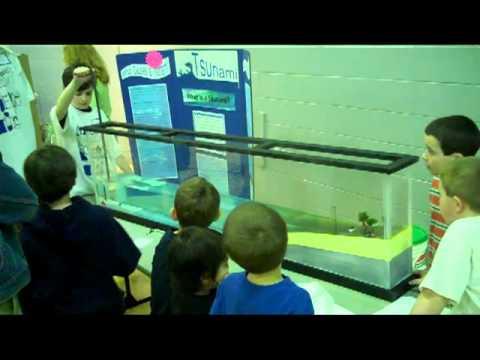 Tsunami - MES Science Fair 2011 - YouTube