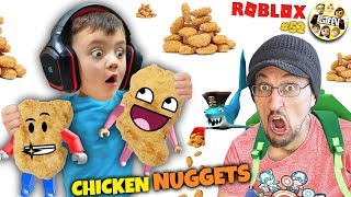 CHICKEN NUGGET DANCE 🐔 (FGTEEV ROBLOX #52)