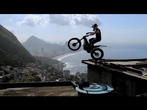 Free Riding in Rio - Red Bull Trial X Sessions