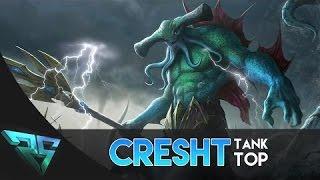 [Gcaothu] MẸO nhỏ giúp tướng Cresht biến to liên tục trong trận đấu  - Thợ sửa đứt cáp gánh team