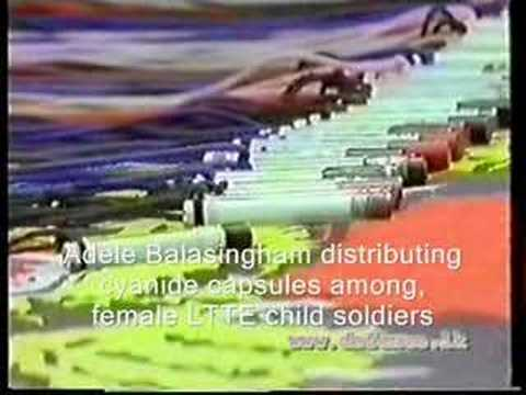 Tamil Tiger terrorists female child soldiers (virgin killers