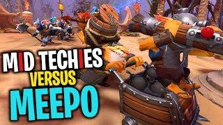 MID TECHIES versus MEEPO! WHO WINS? - DotA 2