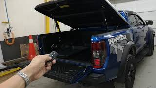 Ford Ranger Raptor Max Cover with Remote Actuator Modification