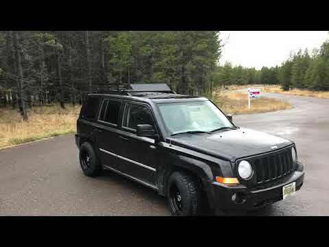 Jeep Patriot rim and tire upgrade