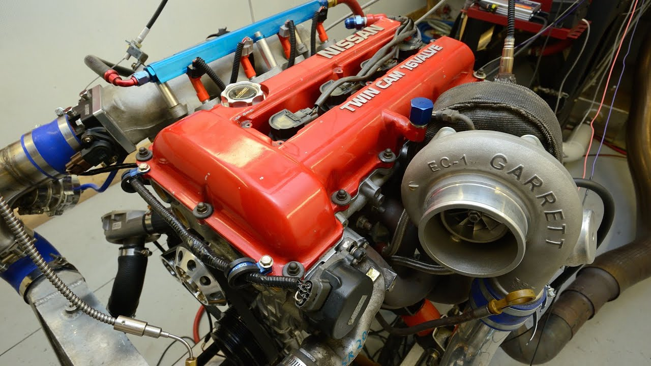 Nissan sr20 dyno tuning adicted performance youtube for 2 4 motor for sale