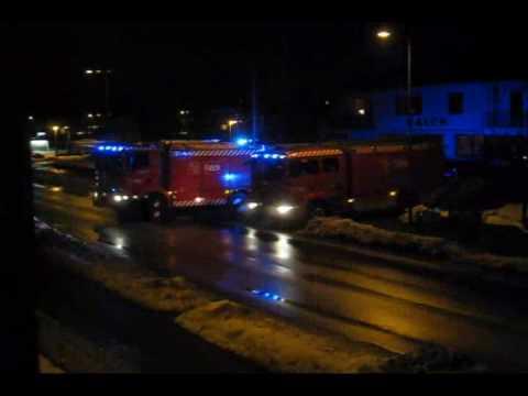 26-2-10 Falck i Nakskov - Udrykning til togulykke Nakskov