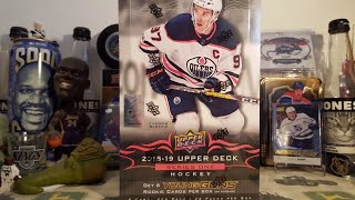 2018-19 Upper Deck Series 1 Hobby Box Break