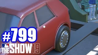 HOMERING INTO THE BACK SEAT OF A CAR! | MLB The Show 19 | Road to the Show #799