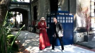 Making of do Pé na Rua sobre Doctor Who