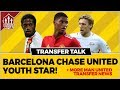 MAN UTD Youth Star Wanted by Barcelona! Manchester United Transfer News
